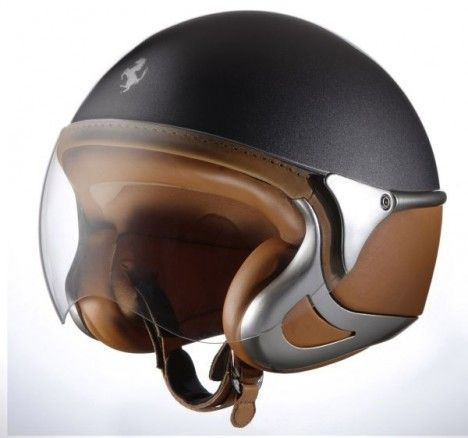 Ferrari Style Helmet by NewMax photo Works with an Italian Ducati @Phoebe Rose Hurst but can work with your new Harley as well.