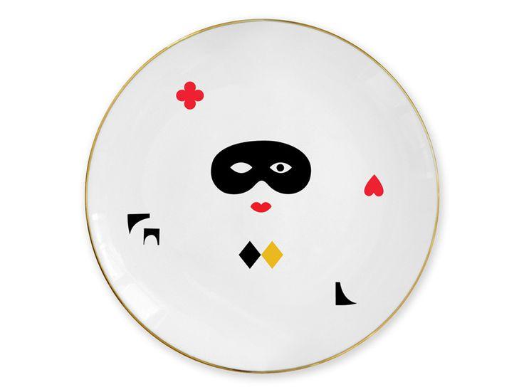 """""""Mask"""" plate / Talerz """"Maska"""""""