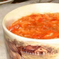 Provencal Tomato Rice Soup Recipe