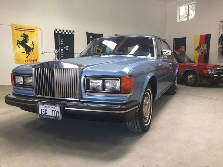 1984 Rolls Royce Silver Spur  One owner California car with 73000 original miles. www.caautobrokers.com