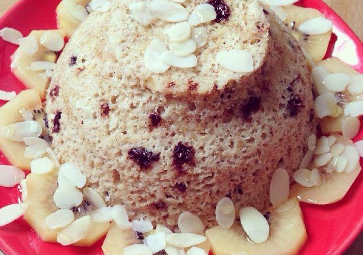 Bowl cake à l'avoine et banane