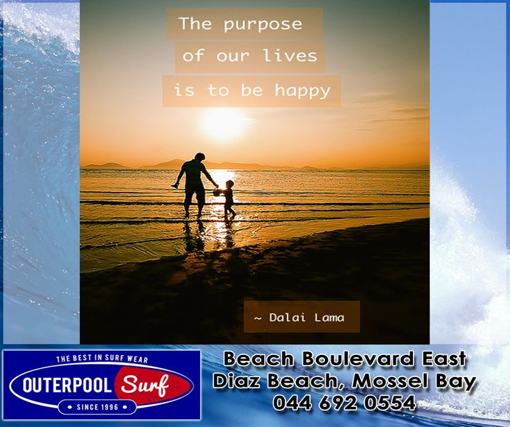 """The purpose of our lives is to be happy."" - Dalai Lama.  #Quote #Purpose #Happy"