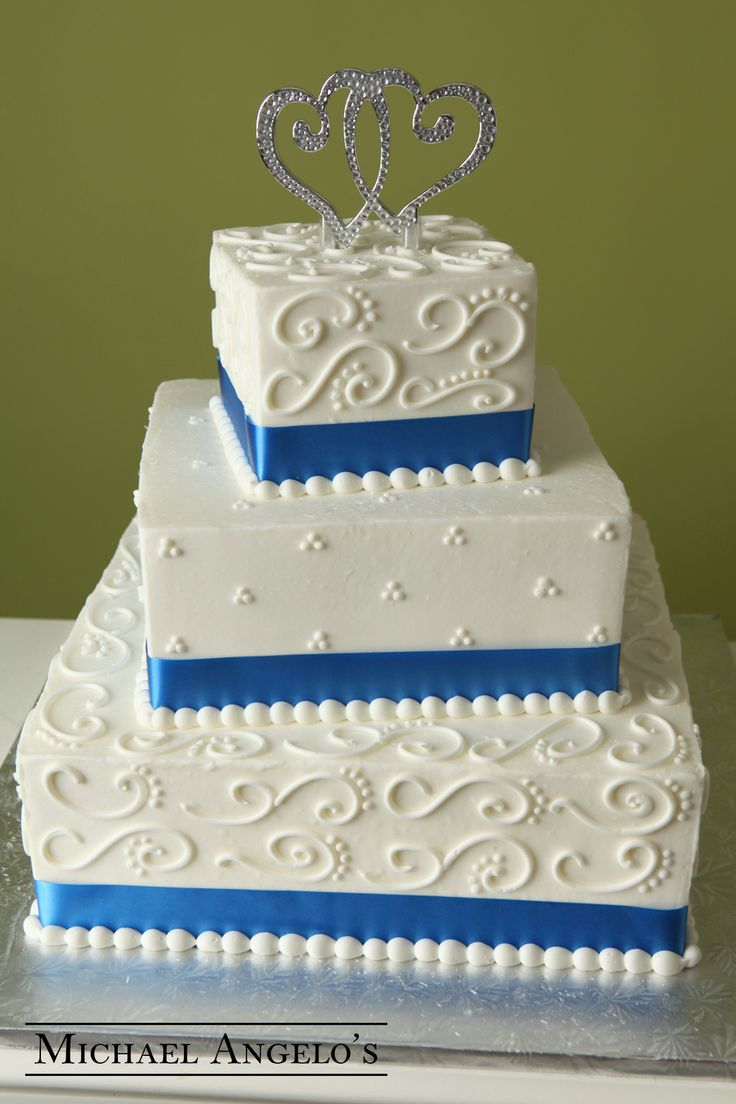 small square wedding cake pictures 1000 ideas about cornflower blue weddings on 20221