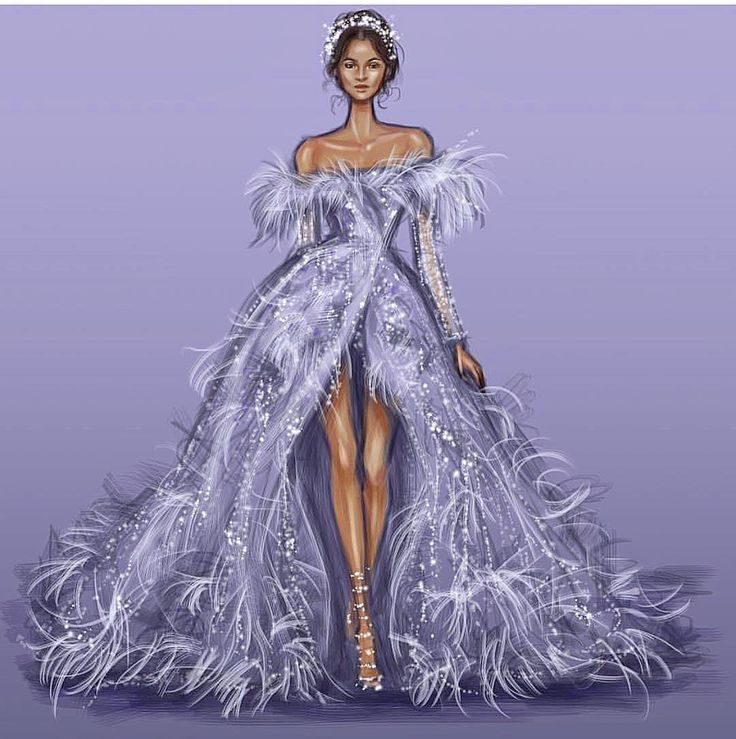 """2,802 Likes, 27 Comments - Zuhair Murad (@zuhairmuradprivate) on Instagram: """"Beautiful illustration by @draw.a.story of one of my favorite dresses from the #hautecouture winter…"""""""