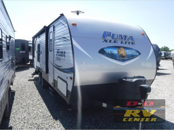 New 2019 Palomino Puma Xle Lite 25rsc Travel Trailer At D D Rv
