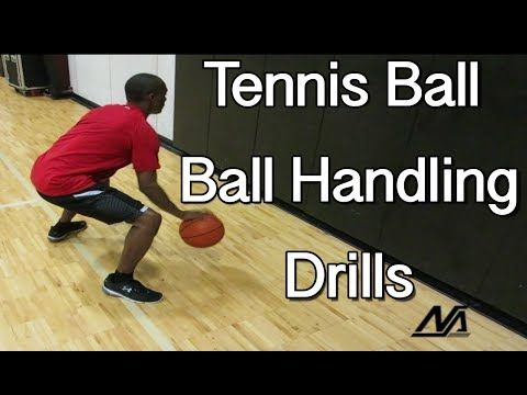 10 Stationary Tennis Ball Dribbling Drills - HoopCoach.org | Basketball Plays, Drills and Jobs