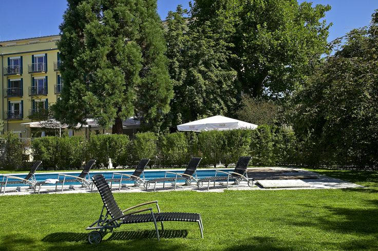 Hotel garden with pool at the Clarion Hotel Hirschen. #Freiburg #Germany #ClarionHotel Booking Link: http://www.choicehotels.de/en/clarion-hotel-hirschen-freiburg-hotel-ge182?promo=icpingezxcge182