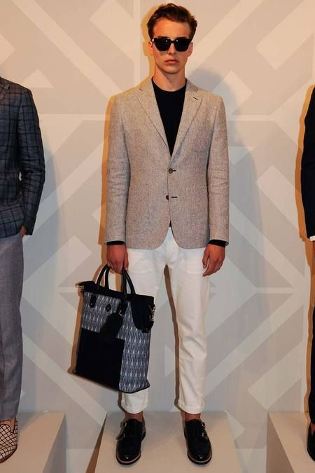 Hardy Amies Spring 2015 Menswear Collection