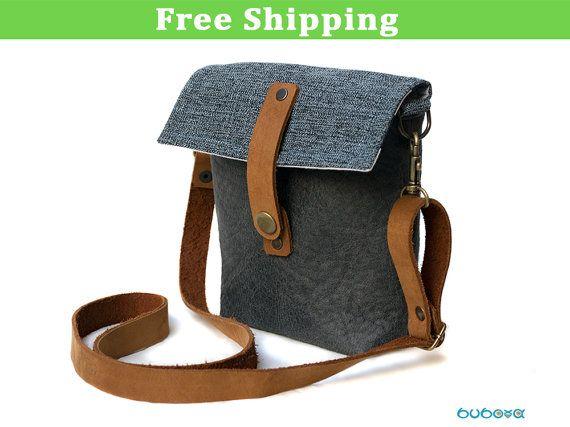 FREE SHIPPINGBelt Bag Blue Shoulder Bag Two-Ways Bag by buboxa