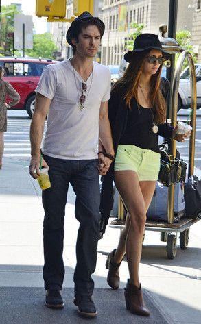 Nina Dobrev, Ian Somerhalder fave couple