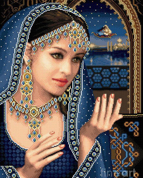 Scheherazade Poster by Stoyanka Ivanova Cross paintings