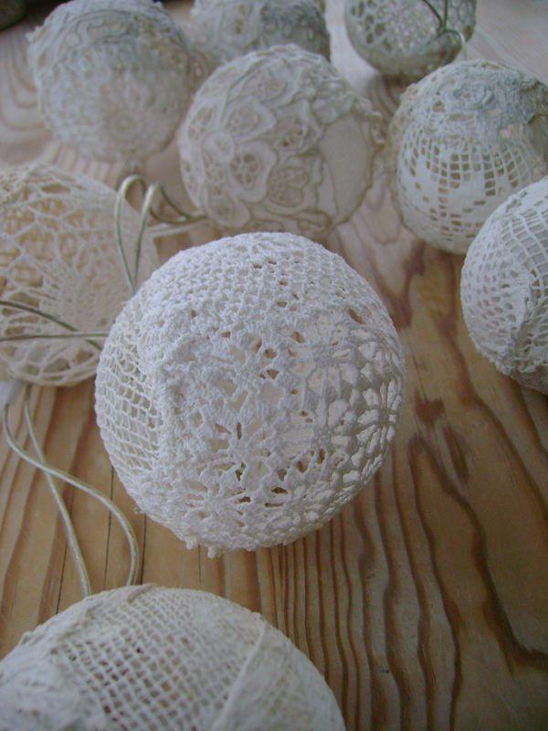 guirlande lumineuse crochet