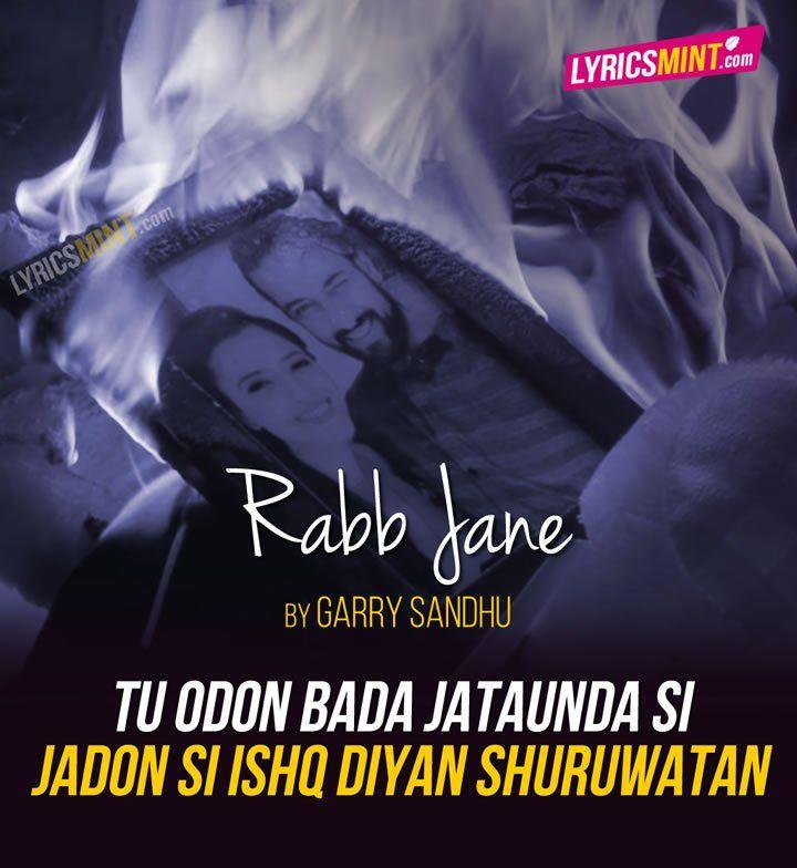 Rabb Jane Lyrics - Garry Sandhu