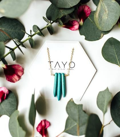 Irma Necklace - TAYO. Jewelry that empowers survivors of sex trafficking. Handcrafted and designed in the Philippines.