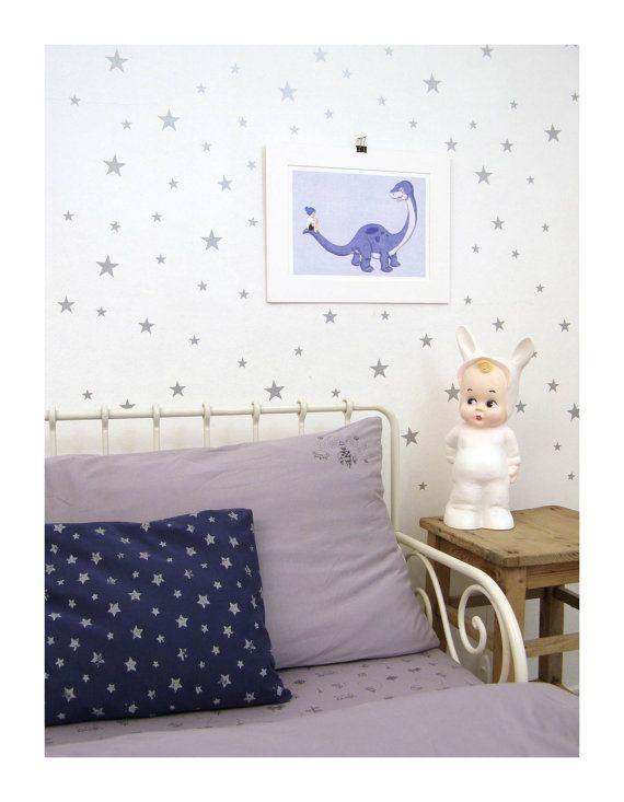Top  Best Star Wall Ideas On Pinterest Silver Stars Star - Nursery wall decals stars