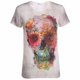 Stylish Lady Women\'s Casual New Fashion Short Sleeve O-neck T-shirt Top Blouse