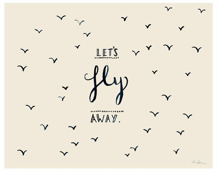 lets fly away...