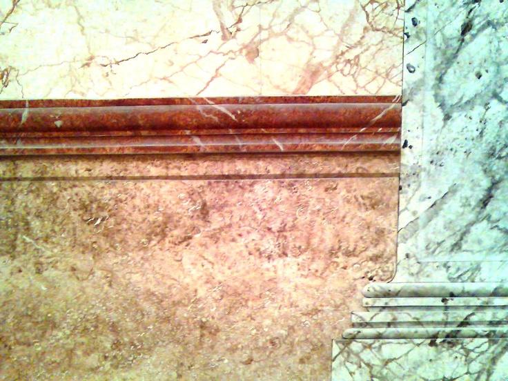 M s de 1000 ideas sobre granito de imitaci n en pinterest - Molduras de marmol ...