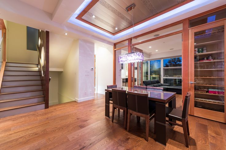 Dining area, Stairs up & Down stairs