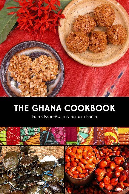 Ghana's cuisine is vibrant, healthful & appealing. Also, since Ghana cannot grow wheat, most of its traditional recipes are gluten-free. Chapters are dedicated to snacks, soups & stews, protein entrees, beverages, baked goods, & more. Among the 140 recipes, you'll find Kofi Brokeman (roasted ripe plantain and dry roasted peanuts), Fante-fante Fisherman's Soup, Jollof Rice with Chicken, Atadwe Milkye (Tiger Nut Pudding), & Lemongrass Tea. Visit to find out more!