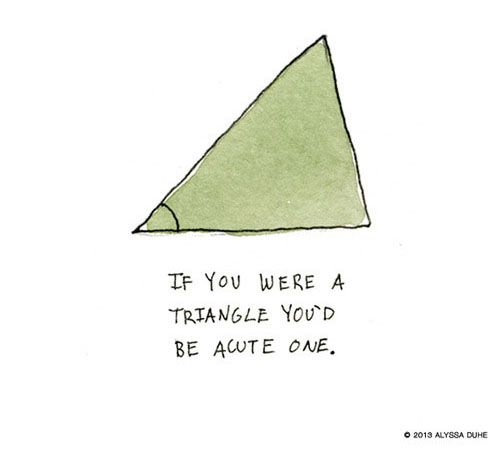 Valentine's Day - Flirty Illustrations of Nerdy Cute Pick-up Lines (Valentins Day Puns)