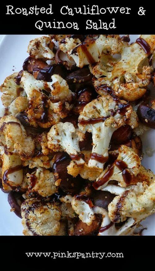 Roast Cauliflower & Quinoa Salad
