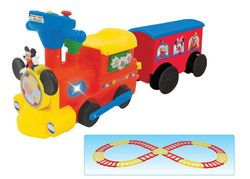 Best 25 mickey mouse train ideas on pinterest mickey for Disney mickey mouse motorized choo choo train with tracks