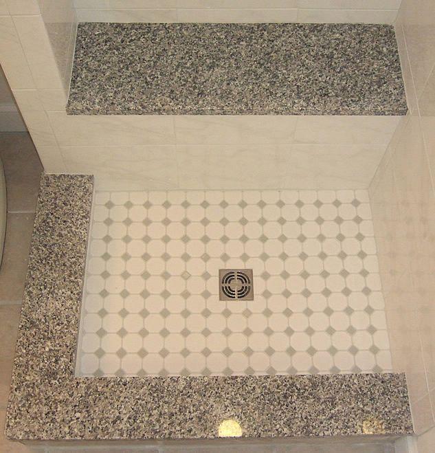 Fairfax Schluter Mud Set Shower Seat