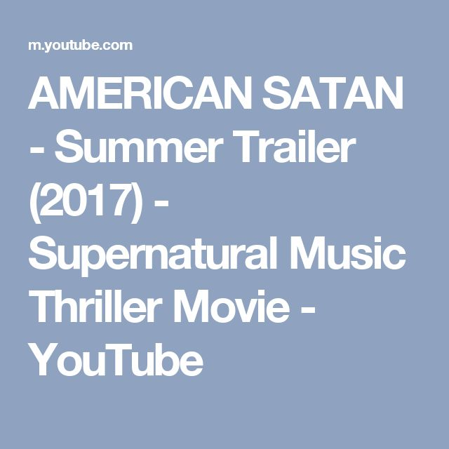 Lucifer Youtube Trailer: 13 Best Images About American Satan!!!!! On Pinterest