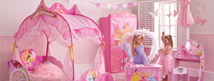 Chambre de princesse disney avec des id es for Chambre princesse