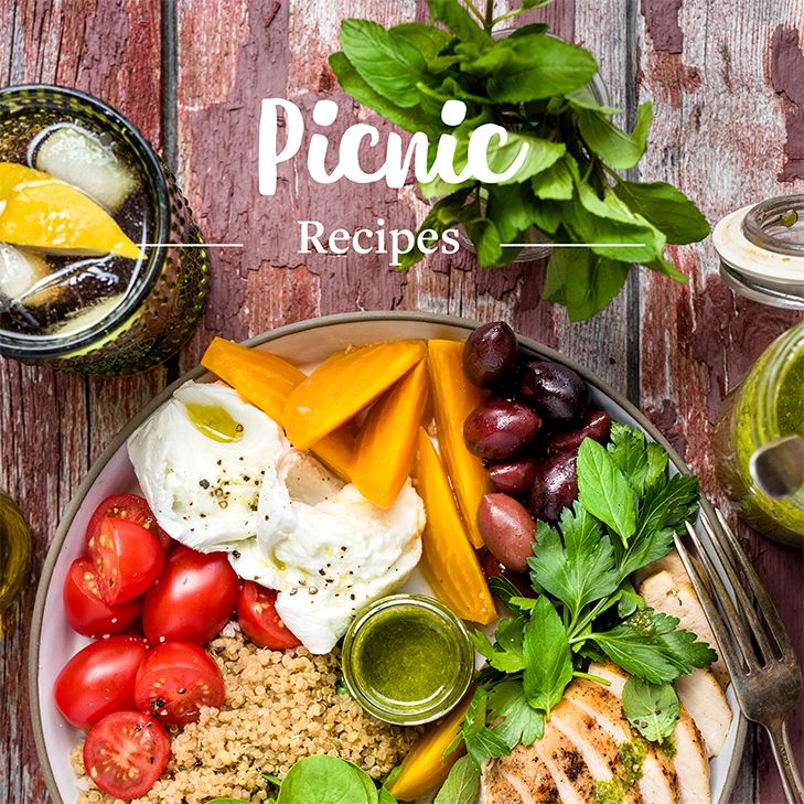 Planning a picnic has never been so easy! Whether you're off to the park or going camping, we have oodles of ideas for recipes to take with you. Discover our selection of perfect summertime recipes!