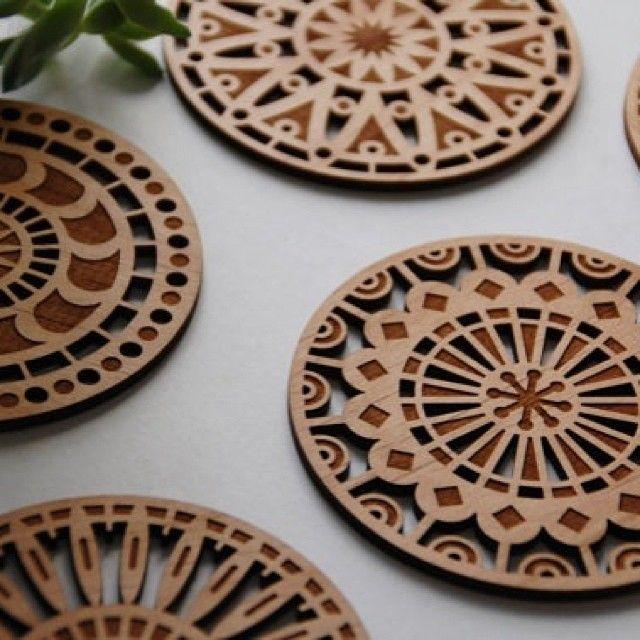 laser wood cut art - Google Search