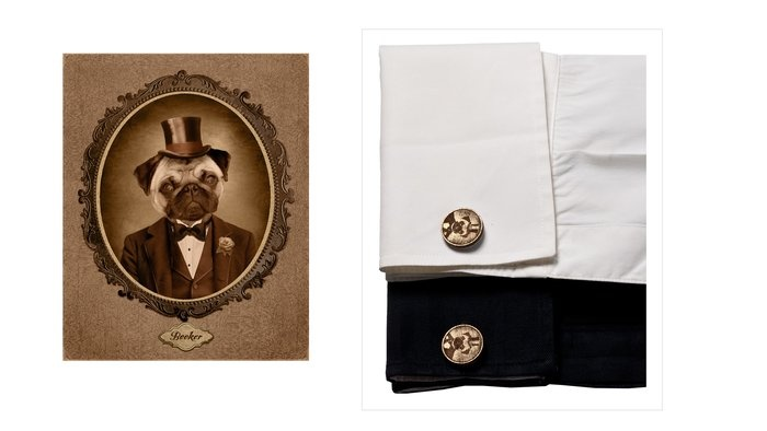 Custom Portrait Cufflinks