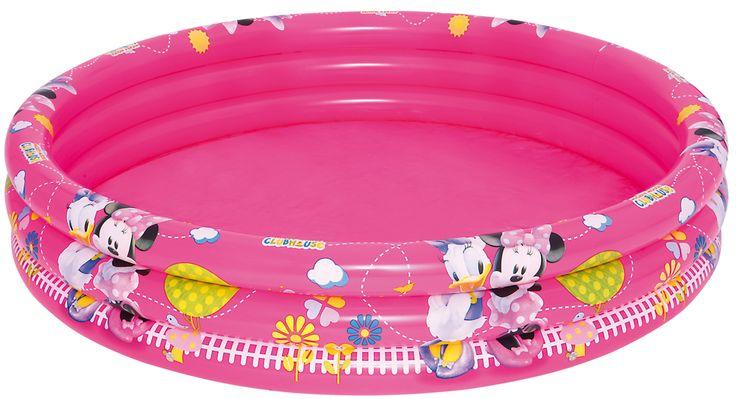 "Bestway 91036 Planschbecken ""Mickey Mouse Clubhouse Girls"" 152 x 30 cm   PLANSCHBECKEN   POOLS & SPA   FREIZEIT   Kajak Kanu Elektromotor bei BeachandPool.de online kaufen"
