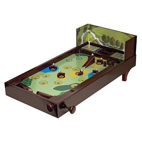 Golf Games Collection | Wooden Golf Recreational Desktop Pinball Game Decor Display Brown by CHH ** To view further for this item, visit the image link. Note:It is Affiliate Link to Amazon. #nature