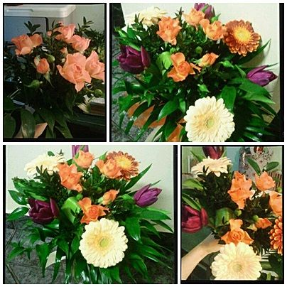 working with passion.... (present for mom :)