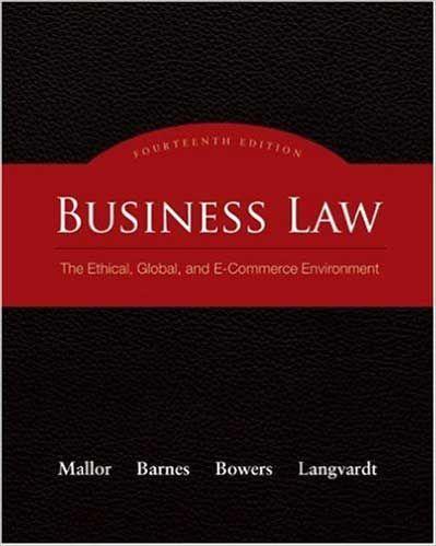Jane p mallor professor emeritus of business law.