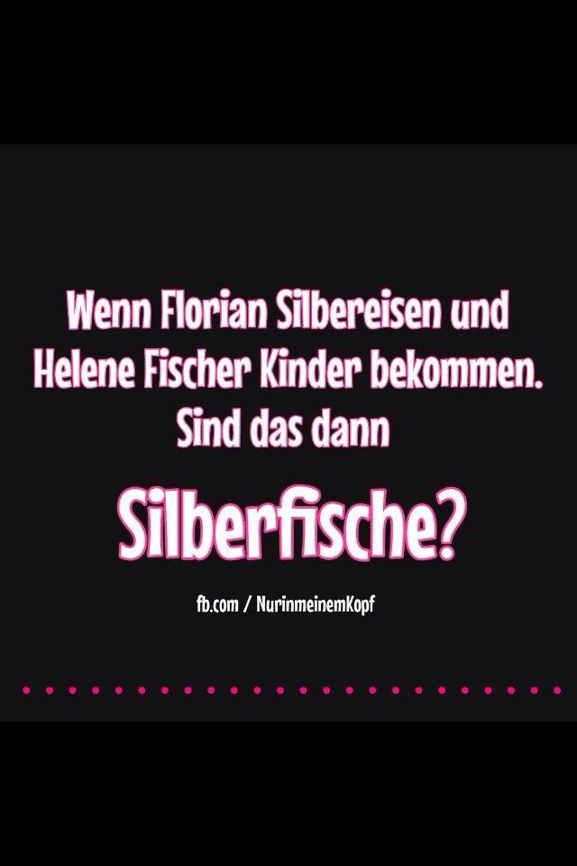 Helene Fischer + Florian Silbereisen = Silberfische
