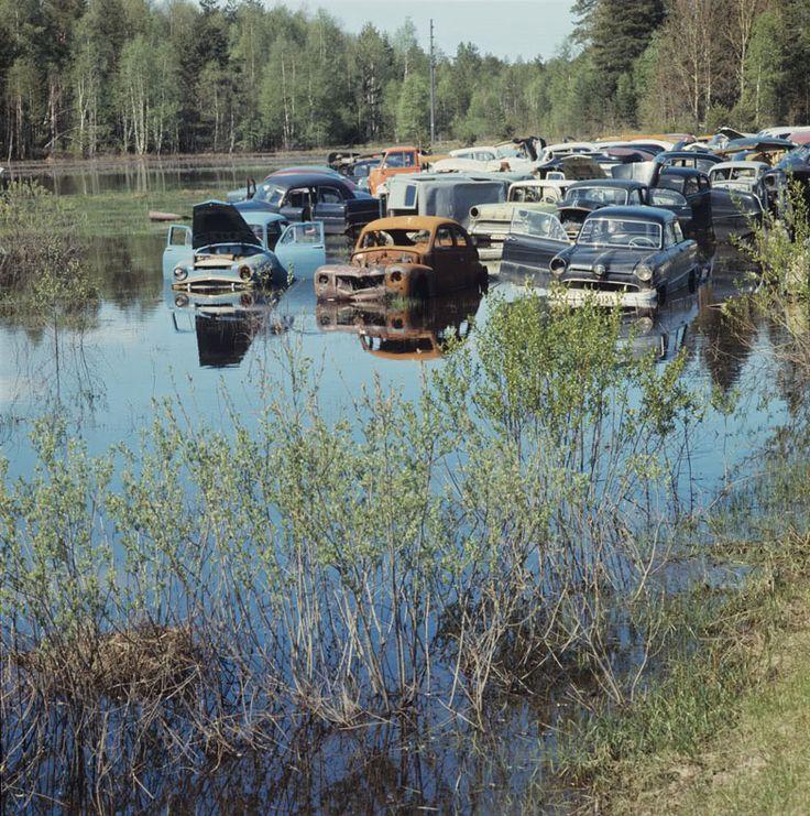 Old Time Junk Yard Photos PIX 1920 to 1970