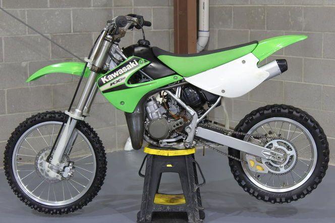 Kawasaki Kx100 Kawasaki Bike Motorcycle