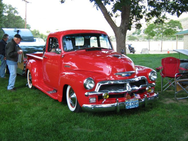 1954 Chevy Pickup.  Business Directory at Muscle Trucks Of America Blogs, Custom Trucks, Truck Shows, Classic Pickups, Performance Truck Parts and More