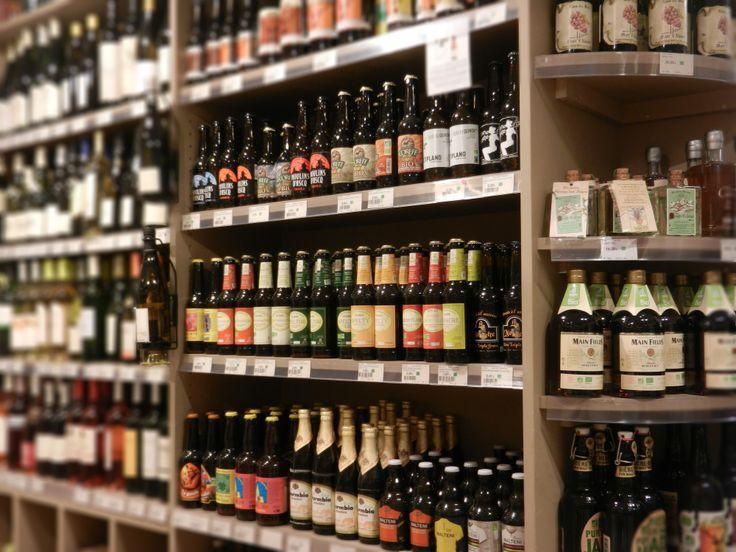 Bières / vins Biocoop