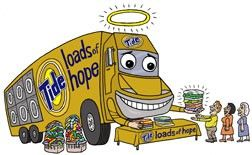What does Tide's Loads of Hope program actually do?