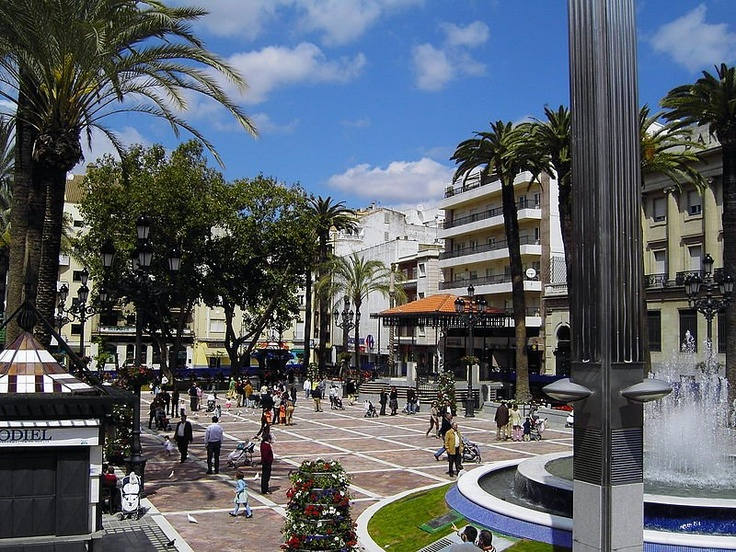 Plaza de las Monjas, Huelva, Spain
