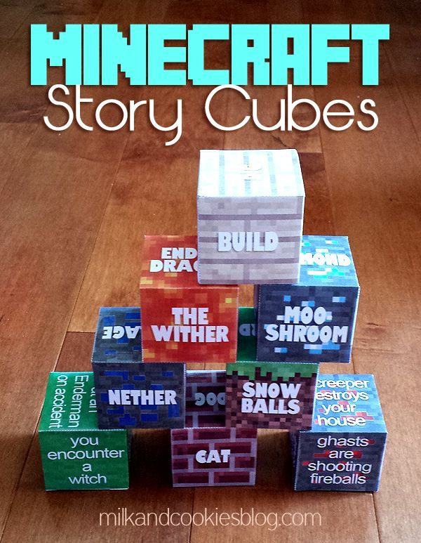 Minecraft Story Cubes