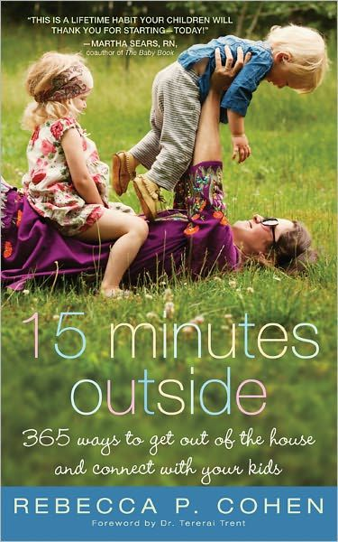 365 Ways to Get out of the House and Connect with Your Kids. I could really use this!