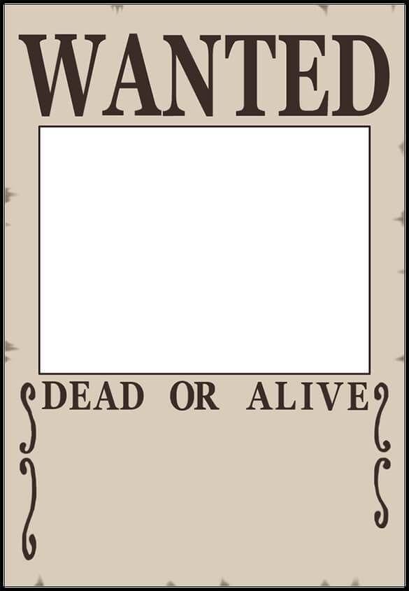 16 Free Premium Beautiful Design Wanted Poster Templates Pdf Word Wanted Poster Template Poster Template Free Poster Template