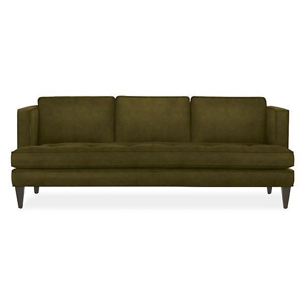 Hutton Sofa Modern Sofas Loveseats Modern Living Room