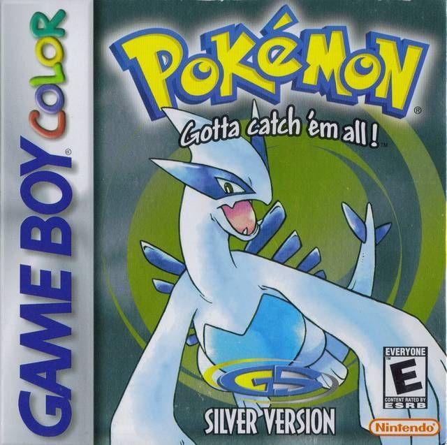 Pokemon Silver Version Game boy color, mucho mas largo y entretenido que la anterior generacion de pokemos