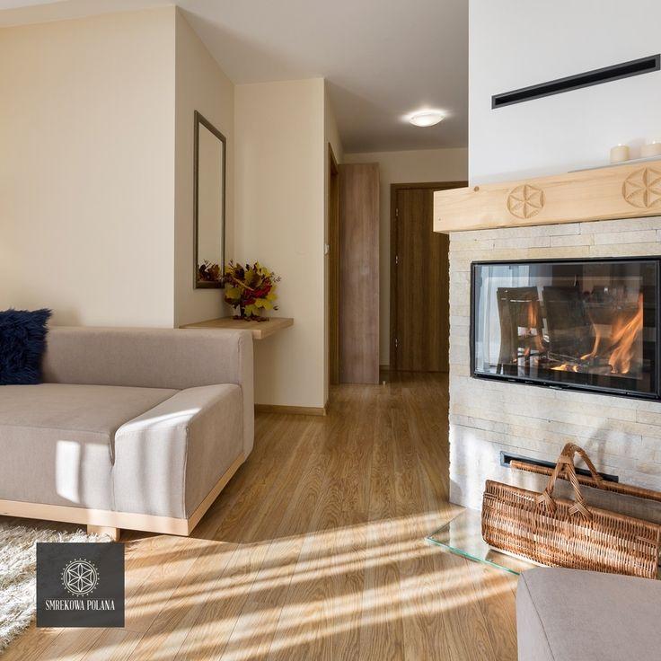 Apartament Zimowy - zapraszamy!  #poland #polska #malopolska #zakopane #resort #apartamenty #apartamentos #noclegi #livingroom #salon #fireplace